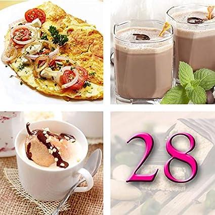 Régimen Adelgazante Hiperproteico Paquete 28 días 66 productos 1 coctelera y 1 guía de regalo –
