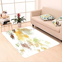 Sophiehome skid Slip rubber back antibacterial Area Rug brushed painted abstract background brush stroked painting 632563958 Home Decorative