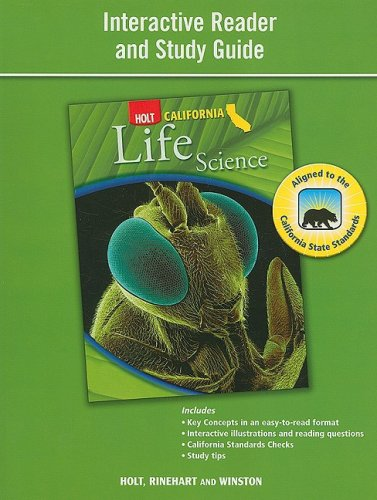 Holt Science & Technology California: Interactive Reader Study ...