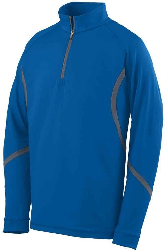 Augusta Sportswear 4760大人用Zealプルオーバー B00EZN8BRW S|ロイヤル/グラファイト ロイヤル/グラファイト S