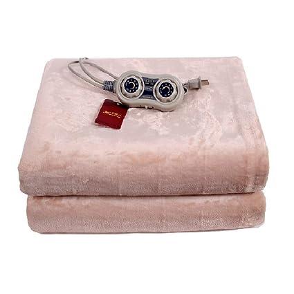 ALYR Calienta Camas eléctrico King Control Doble Manta eléctrica de sofá, Doble Mantas eléctricas colchón