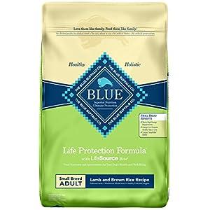 Blue Buffalo Life Protection Formula Small Breed Dog Food - Natural Dry Dog Food for Adult Dogs - Lamb and Brown Rice - 15 lb. Bag 120