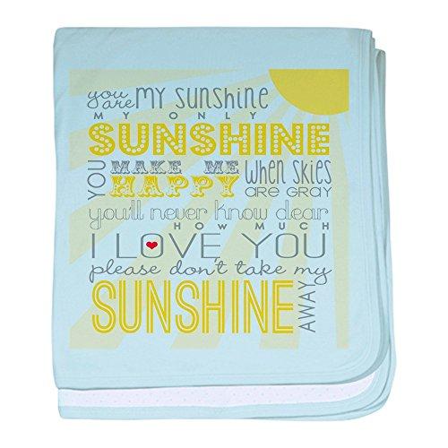 CafePress - Sunshine11 - Baby Blanket, Super Soft Newborn Swaddle