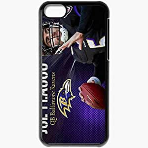 Personalized iPhone 5C Cell phone Case/Cover Skin 939 baltimore ravens 0 Black