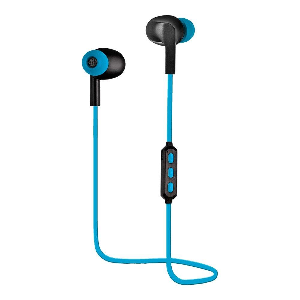Woxter Airbeat BT-5 Blue - Auriculares estreos inalmbricos deportivos(Bluetooth 4.2, A2DP1.2, HFP1.6, AVRCP1.4, HSP,Conexin de voz NFC multipunto, ...