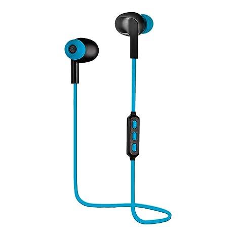 Woxter Airbeat BT-5 Blue - Auriculares estreos inalmbricos deportivos(Bluetooth 4.2, A2DP1