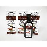 Watkins Extract 2oz Bottle (Pack of 3) Choose Flavor Below (Pure Vanilla Madagascar Bourbon)