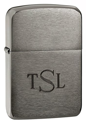 Personalized Zippo 1941 Black Ice Lighter with Free Engraving