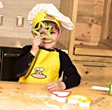 Curious Chef Children's Yellow & Orange Chef Hat
