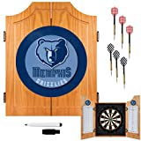 NBA Memphis Grizzlies Wood Dart Cabinet Set