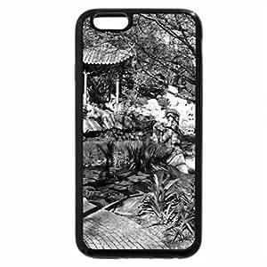 iPhone 6S Plus Case, iPhone 6 Plus Case (Black & White) - Chineses Gardens Sydney