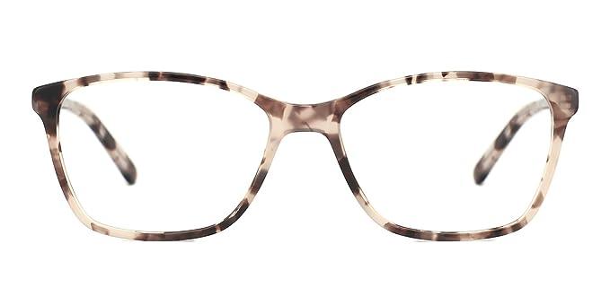 cf0cda0e10 Image Unavailable. Image not available for. Colour  TIJN Women Vintage  Optical Glasses Square Eyeglasses Frames with Non-Prescription Lens