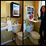 As Seen On The Today Show! Art BECOMES Counter-Top. Space Saver. Change Art in Seconds. Adjustable Shelves. MyFlipFrame. Patented. 3-in-1 Medicine Cabinet. Uses: Pedestal, Half Bath, Kitchen, Office.