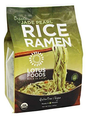 Lotus Foods - Organic Rice Ramen Bamboo-Infused Noodles, Jade Pearl - 10 Oz, 1 Pack