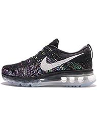 Nike Womens Flyknit Max Nylon Cross-Trainers Shoes
