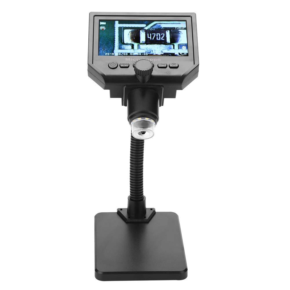 豪奢な 4.3インチ LCD USB 顕微鏡 ポータブル G600 1-600X 拡大鏡 1080P デジタル電子顕微鏡 100-240V Walfront5y0n17fsk9-01  US Plug B07L4M38C2, ビューティアップ! b71751fb