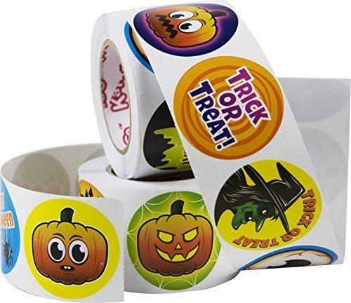 Kangaroo's Halloween Spooky Stickers 500 Pack ()