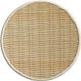 籐巻盆ざる丸シヤク1寸 11-214