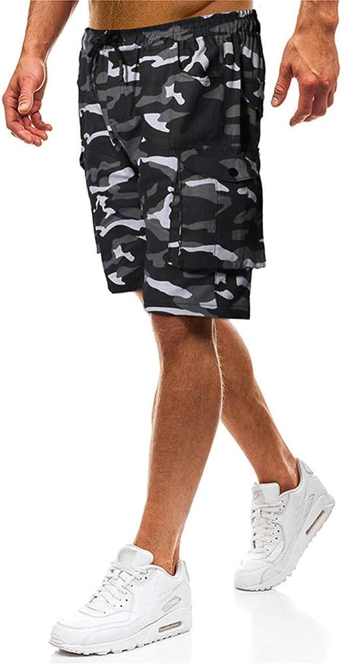 Colmkley Basketball Shorts for Men Running Gym Casual Athletic Drawstring Pocket