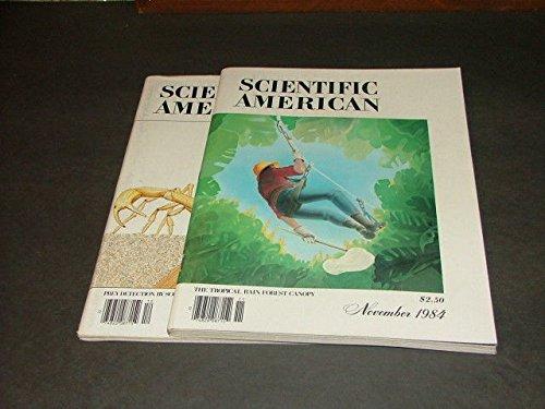 2 Iss Scientific American Nov-Dec '84 Scorpions Prey Detection, Rain Forest
