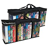 vhs and dvd storage - Evelots 6746 Large Vhs Storage Bags, 2 Piece