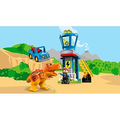 Lego DUPLO Jurassic World - La tour du T-Rex - 10880 - Jeu de Construction