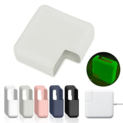super popular 020bb 3d8ba JRCMAX Macbook Charger Case,Soft Thin Silicone Protector Case for Macbook  Pro 13
