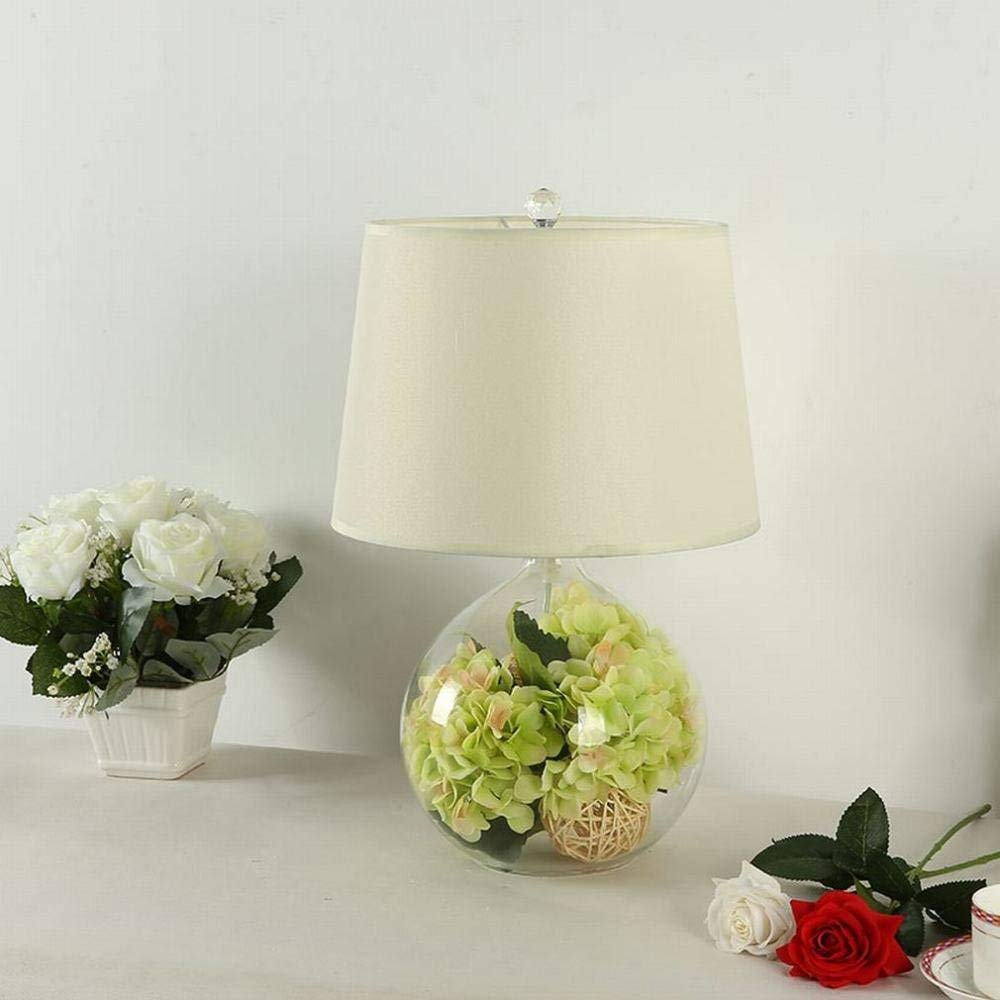 Xiao Yun   Creative Glas Tischlampe Schlafzimmer Nachttischlampe Garten warm romantisch Moderne einfache Tischlampe
