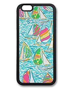 Black Case for iphone 6 Plus,Fashion Cool Art Sailing Vessel Custom Protective Soft TPU Back Case Cover for iphone 6 Plus