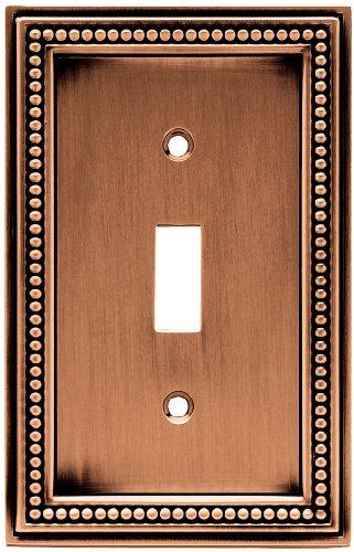 Brainerd 64245 Beaded Single Toggle Switch Wall