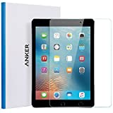 iPad 9.7 in (2017) iPad Pro 9.7 in iPad Air 2 iPad Air Screen Protector - Anker [Double Defense] Premium Tempered-Glass Tablet Screen Protector with Retina Display - Anti-Scratch - Anti-Fingerprint