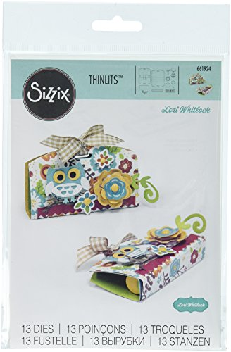 Sizzix Thinlits Die Lip Balm Holder, Pack of 13 ()