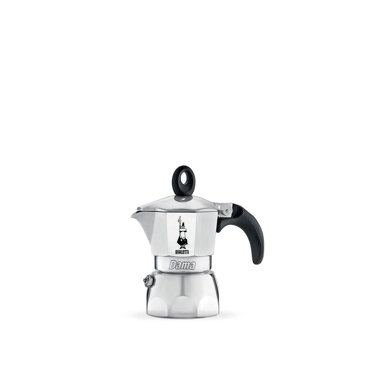 Bialetti 2151 Dama Nuova Espresso Maker, Silver