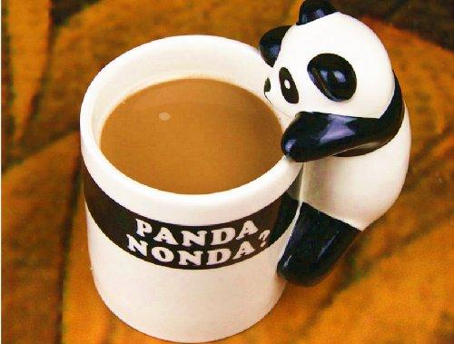 Unique Cute Mug Designs Amazoncom Moyishi Little Lovely Panda Design Office Coffee To Decor