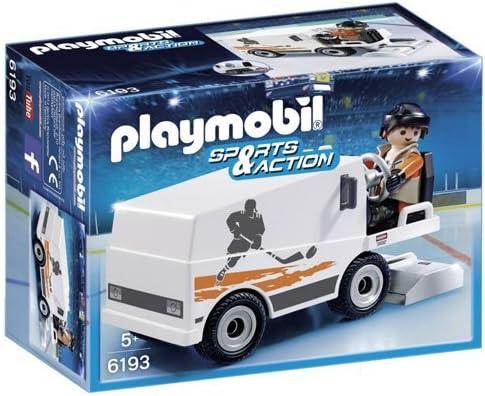 PLAYMOBIL - Sports & Action Pulidora de Hielo Playsets de Figuras de jugete, Color Multicolor (6193)