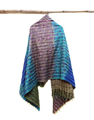 Silk Scarf Head Wrap Stole Dupatta Embroidered Scarf Women Fashion Scarves