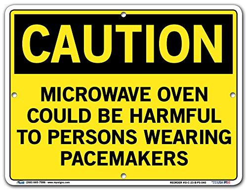 Vestil SI-C-23-B-PS-040 Microwave Oven Could be Harmful t...