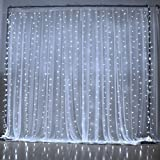 Amazon Price History for:Curtain Lights,SOLMORE 3M x 3M 300LED Christmas String Fairy Lights,Window Light,Wedding Lights,Festival Led Icicle Lights for Xmas,Wedding,Party,Home,Wall Garden Decorations