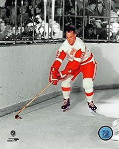 Detroit Red Wings Gordie Howe, 8x10 Photo Picture