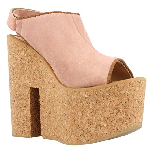 IS TO ME Womens Clogs, Colour Pink, Brand, Model Womens Clogs Sasha 1 Pink Pink