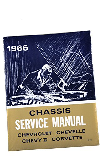 (I-4-13) Compatible With 1966 Chevrolet Chevy Service & Overhaul Shop Manual Supplement Chevelle Impala