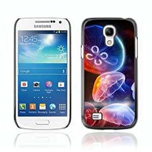 Designer Depo Hard Protection Case for Samsung Galaxy S4 Mini / Colorful Jellyfish