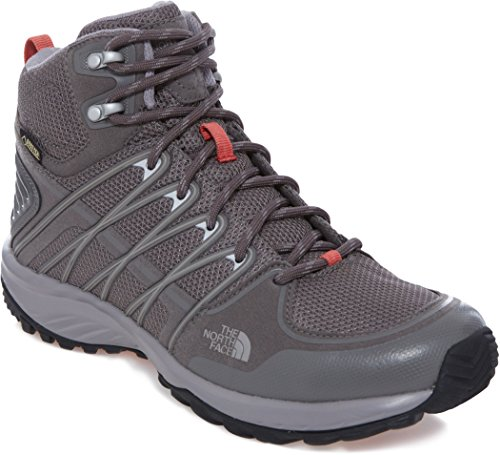 The North Face T92t42, Botas de Senderismo Mujer Gris (NHJ)