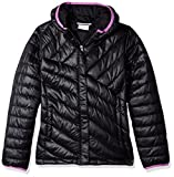 Columbia Boys' Big Powder Lite Puffer Jacket, Cypress, Large