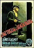 G Men FRIDGE MAGNET James Cagney 6x8 Italian Movie Poster Magnetic Canvas Print