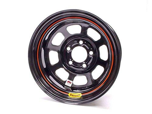 Bassett D-Hole 15x8 in 5x4.75 Black Wheel Rim P/N 58DC2I