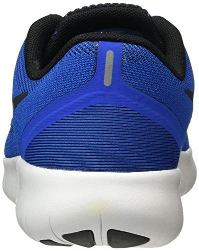 Nike Bambini Rn Gratuito (grande) Gioco Reale / Nero Bianco