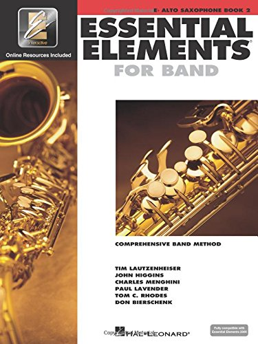 Essential Elements 2000: Book 2 (Eb Alto Saxophone) ()