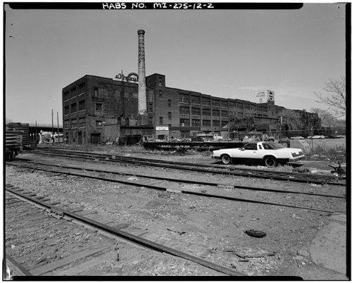 HistoricalFindings Photo: Fisher Body Company Plant,1961 East Milwaukee Avenue,Detroit,Michigan,MI,HABS,1