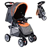 New 3 Color Foldable Baby Stroller | Child Kids Newborn Infant Buggy Pushchair